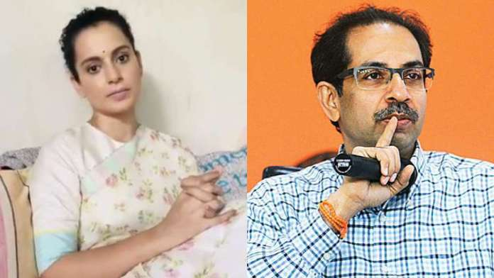 Kangana Ranaut slams Maharashtra CM Uddhav Thackeray for ganja jibe