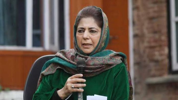 PDP draws the ire of Congress and the BJP with her remarks on Indian flag
