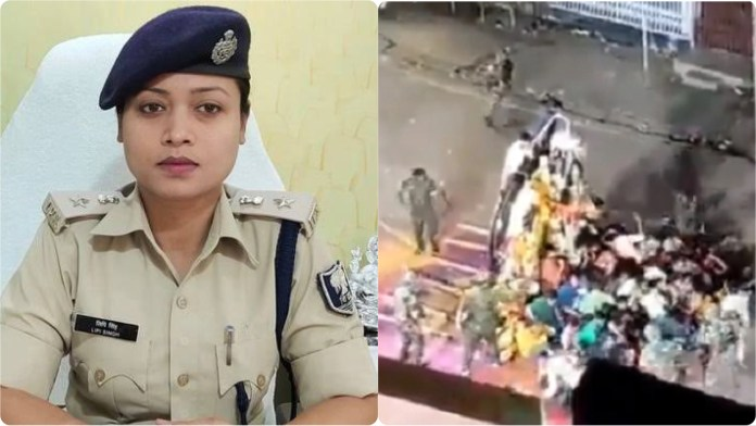 Munger Police deletes Twitter account after facing backlash for its action on Durga Puja Visarjan devotees