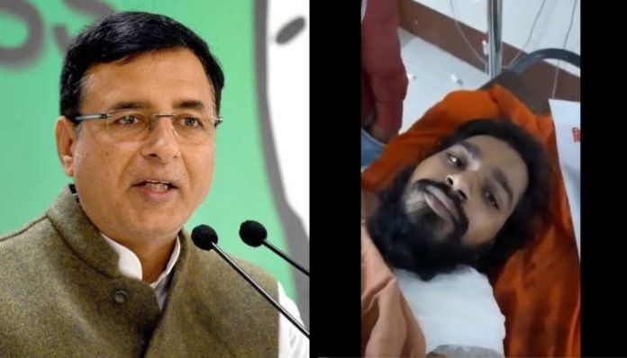 Randeep Surjewala lies about death of temple priest in UP, gets exposed
