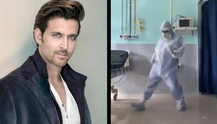 Actor Hrithik Roshan praises Assam doctor after his dance video goes viral on social media