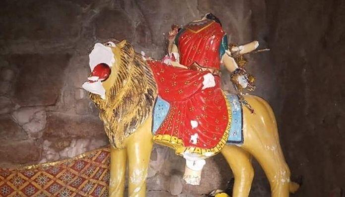 Hindu idol vandalised in Pakistan by miscreants during Navratri