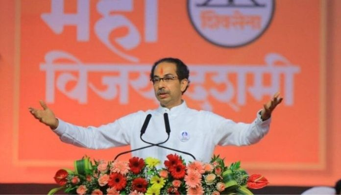 Uddhav Thackeray throws Hinduphobic Gaumutra jibes at the BJP