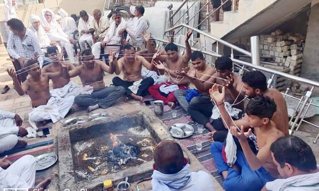 Haryana: 35 members of 6 families do 'Ghar Wapsi', come back to Hindu fold