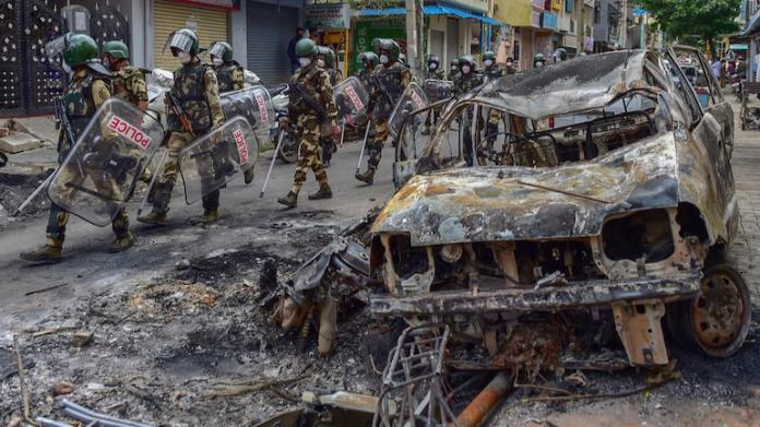 CCB files chargesheet in Bengaluru Riots case