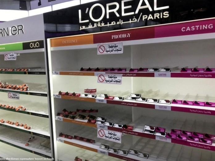 Kuwait boycotts French Products