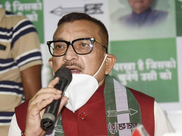Gupteshwar Pandey not to contest in upcoming Bihar polls