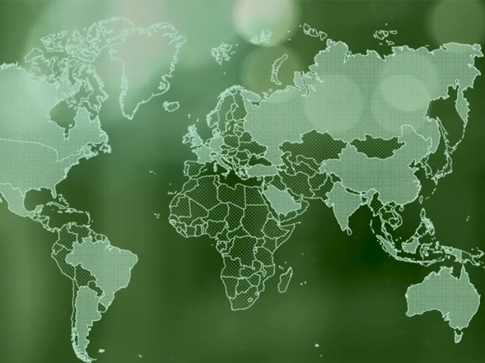 Map on G20 20 Riyal note