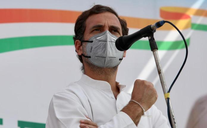 Congress leader Rahul Gandhi indulged in fear-mongering over the recently passed Farm bills in a rally in Punjab