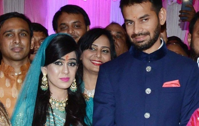 Tej Pratap Yadav shift election constituency out of wife's fear. Read details
