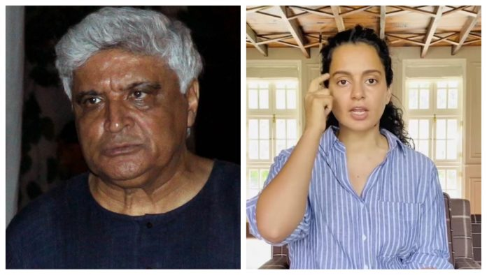 Javed Akhtar files criminal complaint against Kangana Ranaut