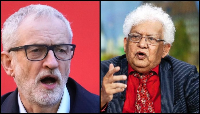 MPs abused, it was out and out racism: Economist Lord Meghnad Desai quits UK's Labour Party after they re-admit Jeremy Corbyn days after suspension