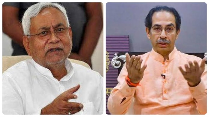 After losing deposits on all the election seats it fought in Bihar, Shiv Sena's Saamana claims credit for return of Nitish Kumar as Bihar CM