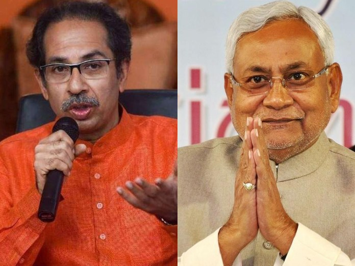 Uddhav Thackeray Nitish Kumar