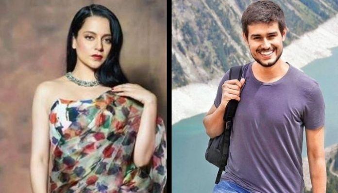 Actress Kangana Ranaut accuses Dhruv Rathee of spreading fake news