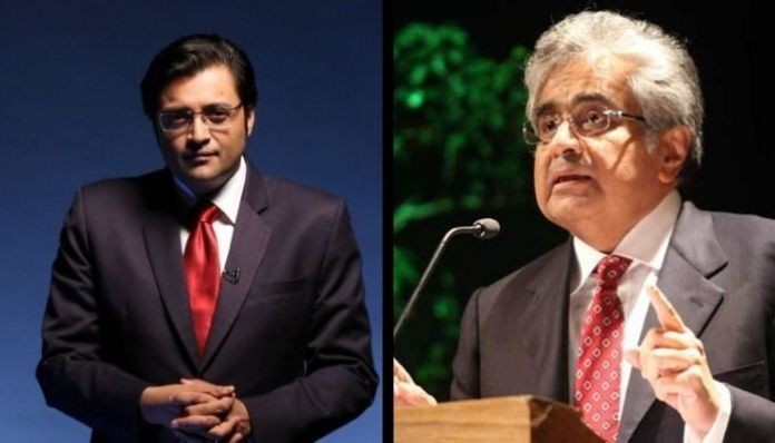 Republic TV row: Arnab Goswamu thanks Harish Salve for fighting his case