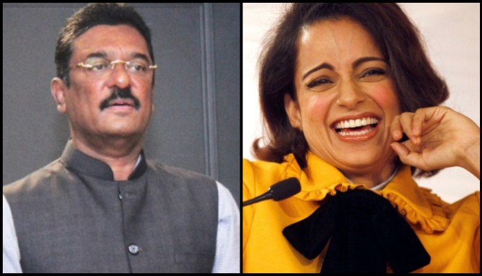 Shiv Sena MLA Pratap Sarnaik, who had threatened to break Kangana Ranaut's mouth, gets raided by ED officials