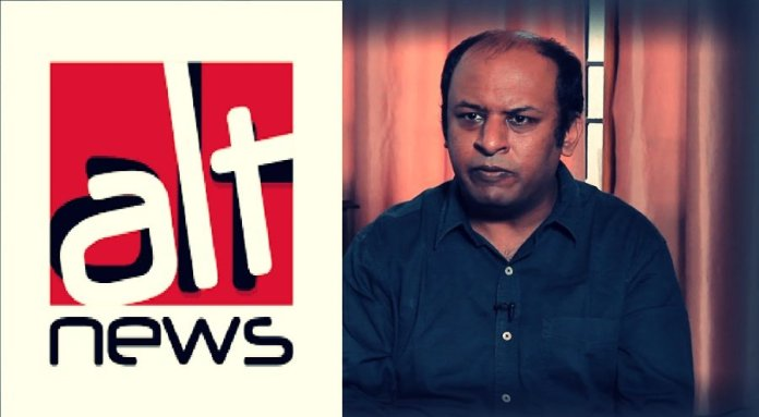 Pratik Sinha shared fake news while trying to 'fact-check' an image