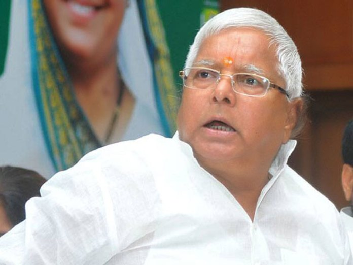 Lalu Prasad Yadav accused to trying to lure away NDA MLAs ahead of assembly speaker election