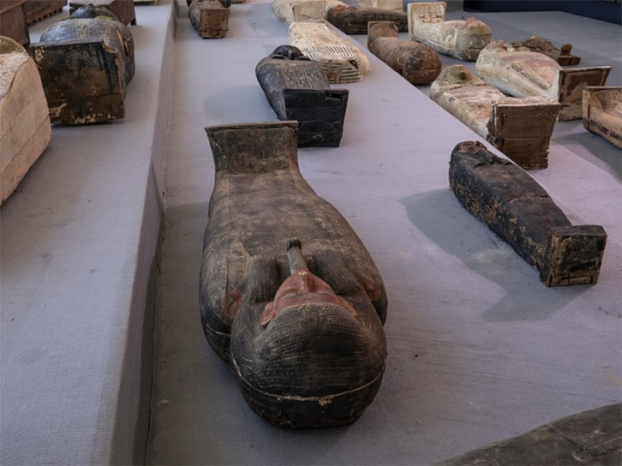 Large number of mummies discovered in Egypt's Saqqara burial site