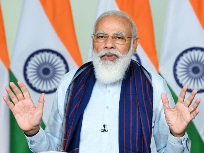 Narendra Modi speaks on the Jal Jeevan Mission