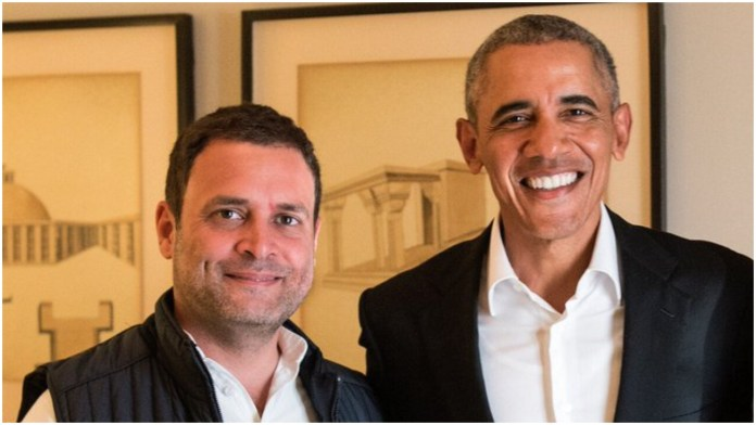 Obama's new book cites Rahul Gandhi as a nervous student