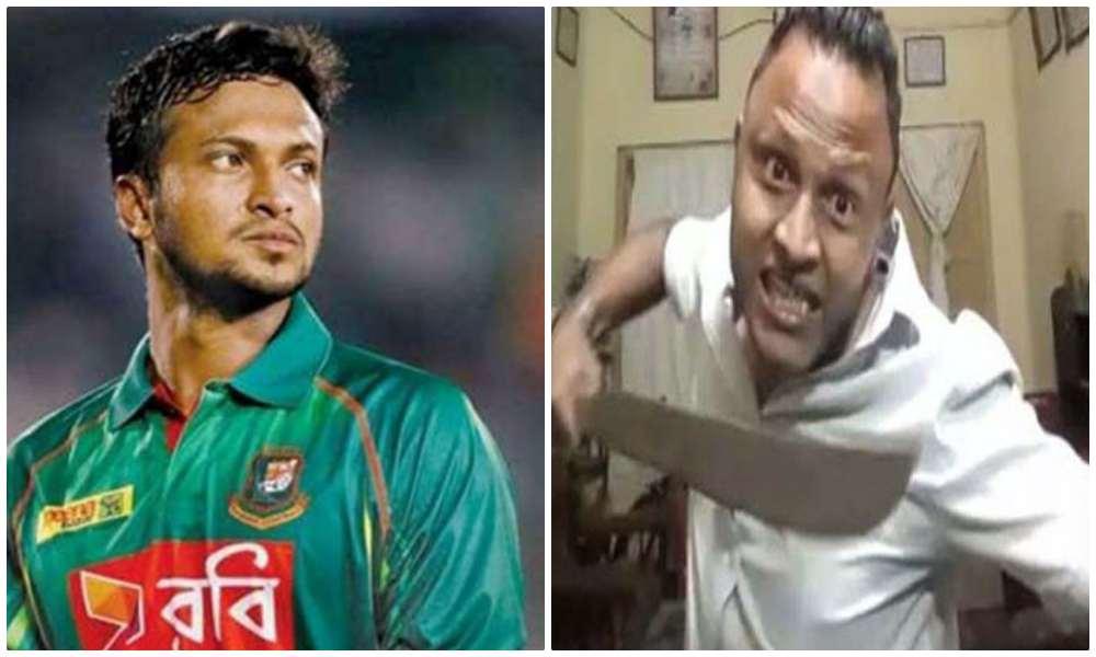 Bangladesh: Youth threatens to slaughter cricketer Shakib Al Hasan for inaugurating Kali Puja in Kolkata
