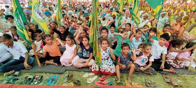 Just like Saheen Bagh protests, Farmers' protest also witnesses children protesters