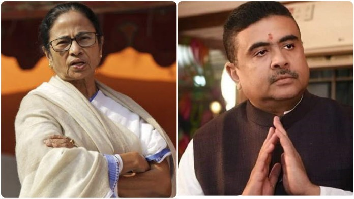 Clashes erupts between Suvendhu Adhikari's followers and TMC after former's rally passes through Ramnagar in East Midnapore