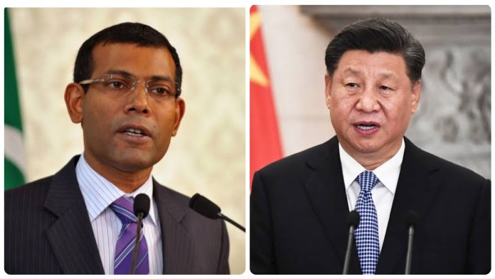 Former Maldives President Mohamed Nasheed criticises Chinese banks for not giving the tiny Island nation a 'breathing space' in their loan repayment conditions