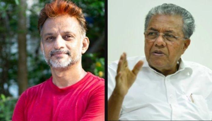 Man fired from job for critiscising Communist Kerala CM Pinarayi Vijayan