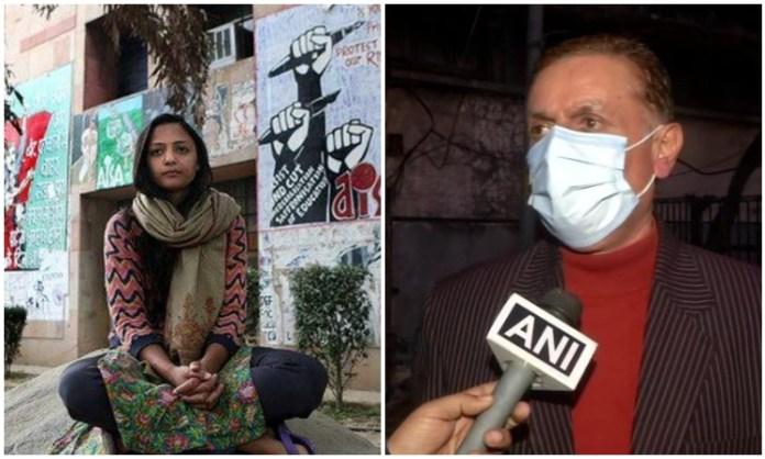 Shehla Rashid's father refutes allegations of domestic violence