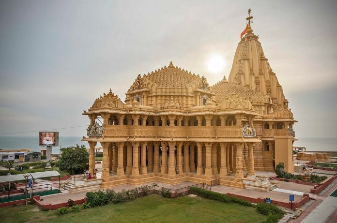 Buddhist structures found under Somnath temple