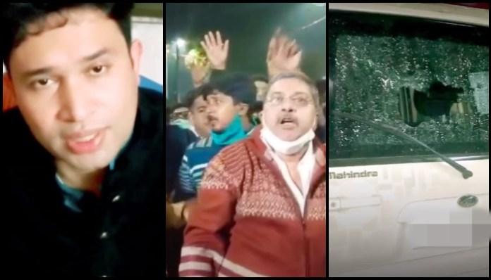 West Bengal BJP leader Kabir Bose's case vandalised, under house arrest as 100s of TMC leaders, led by Kalyan Banerjee, surround his house