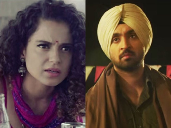 Kangana Ranaut vs Diljit Dosanjh fight turns ugly, she calls him Karan Johar's pet dog