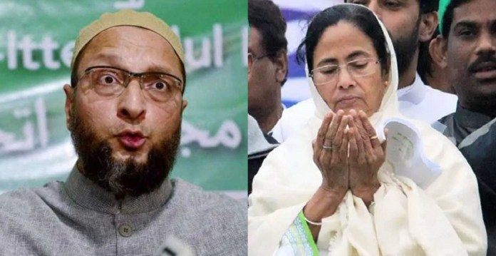 Owaisi fumes on Mamata's vote cutter comments, says she does not own Muslims