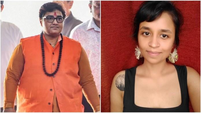 Sadhvi Pragya Thakur has sent legal notice to Rachita Taneja over domain name and defamatory posts