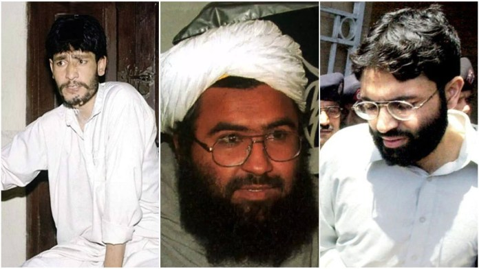 3 dreaded terrorists, Maulana Masood Azhar, Mushtaq Ahmed Zargar, and Ahmed Omar Saeed Sheikh were released by the Indian government