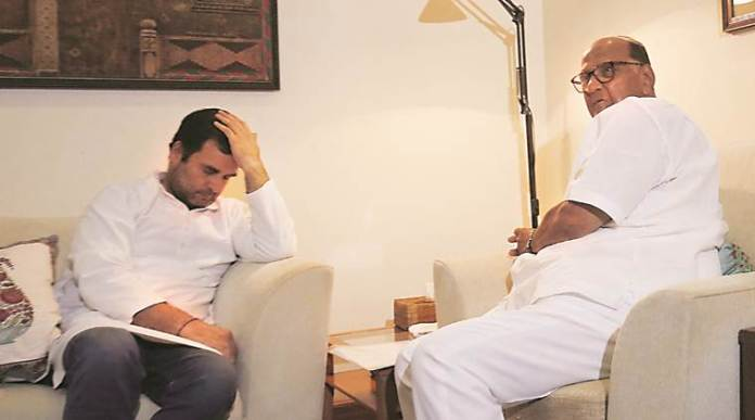 NCP chief Sharad Pawar says Rahul Gandhi lacks the consistency to lead the country
