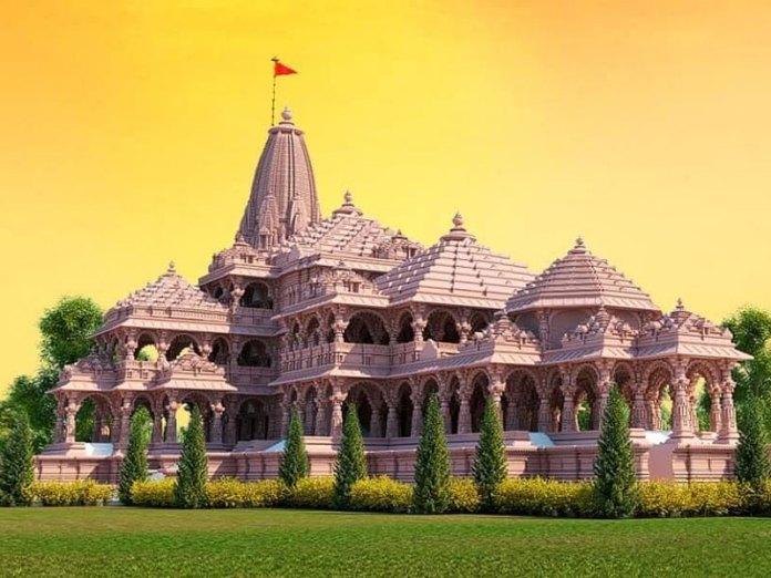Ram Mandir proposed structure