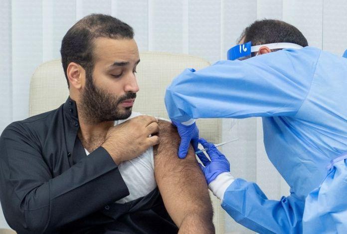 Crown Prince of Saudi Arabia, Mohammed bin Salman, has received the first dose of the Coronavirus vaccine