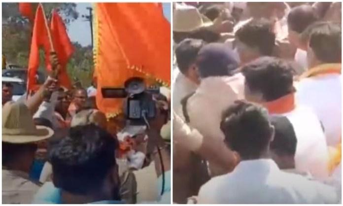 Belgavi dispute: Karnataka police ban Shiv Sena activists from entering