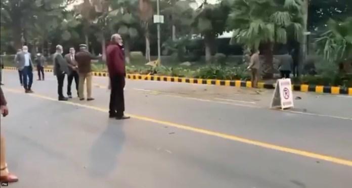 IED Blast in Delhi outside Jindal House near Israel Embassy