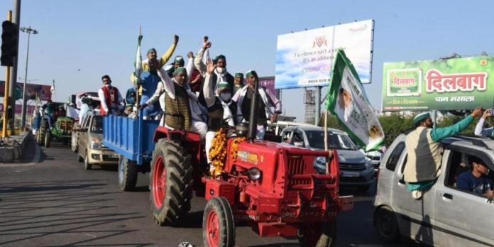 Protesting 'farmers' plan to disrupt Budget Session with another rally on February 1