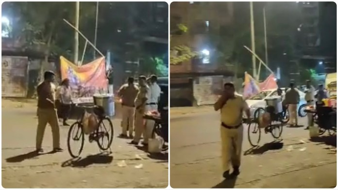 VHP accuses Mumbai Police officials of removing and tearing apart posters of Lord Ram in Malwani