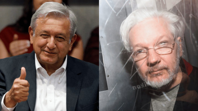 Mexico's President Andres Manuel Lopez Obrador offers political asylum to Wikileaks founder Julian Assange