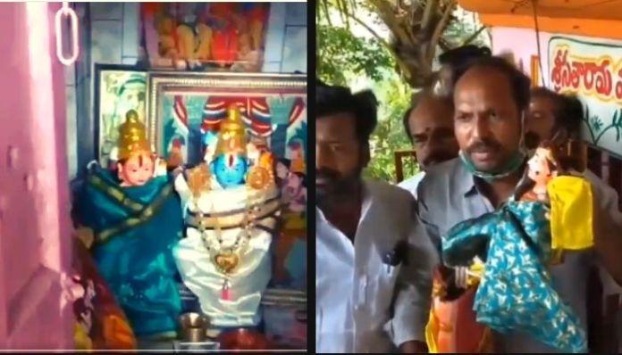 Idol of Goddess Sita found vandalised in Andhra Pradesh