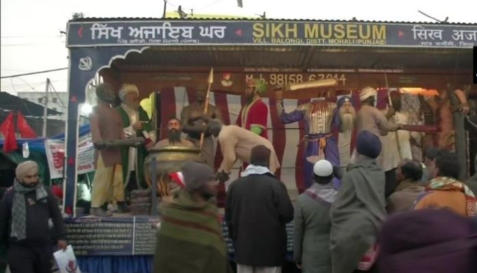 Museum, depicting the killing of Sikh Gurus, surface amidst farmer protests