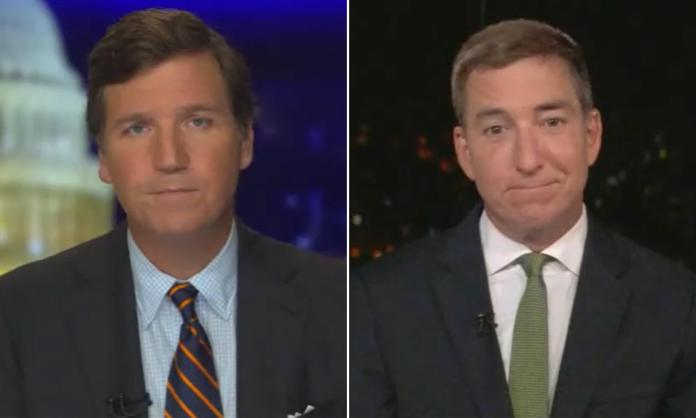Glenn Greenwald appeared on Tucker Carlson Tonight to say that Democrats and the Biden administration are planning to unleash a 'War on Terror' on Trump supporters