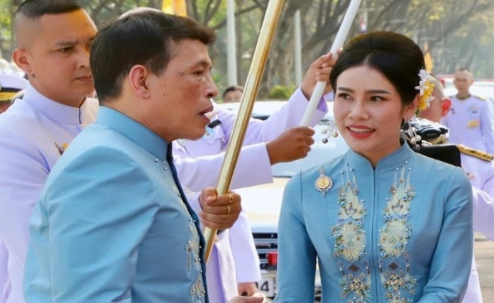 Thai King Maha Vajiralongkorn anoints his mistress as the second queen
